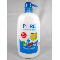 Pure Baby Liquid Cleanser Bottle Pump 700 ml + EXTRA 200ml
