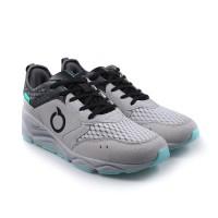 Sepatu Running Ortuseight Chameleon - Light Grey Carbon Aqua