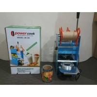 Cup sealer/Mesin penyegel plastik powercook JM-D8 BONUS 1ROLL PLASTIK
