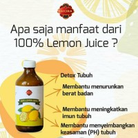 Lemon Juice Murni OZORA 100% 350ml Perasan Lemon Sari Asli