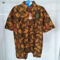 Hem Kemeja Pria Batik Pekalongan Lengan Pendek Murah 10