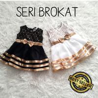 Baju/Dress Bayi - Pesta/Kondangan Anak Bayi Perempuan Gold