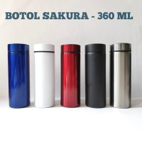 botol Sakura 360 ml stainless