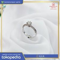 Cincin Berlian GIA Diamond Solitaire ring size : 13