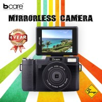 Kamera Mirrorless Bcare 24 MP Full FHD 1080P Video 3 inch LCD