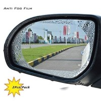 Stiker Anti Air Embun OVAL - Screenguard Fog Rain Film OVAL
