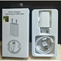 Charger Iphone 6 7 8 Original 5W Power Adapter Lightning to USB Cable