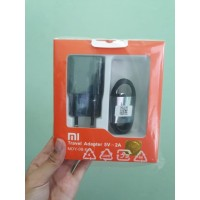 Xiaomi Travel Charger USB Micro 2A Round Pin Black Pack 5V=2A Original