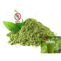 Bubuk Minuman Green Tea Pure Non Gula 100 gram, Enak, Murah, Halal