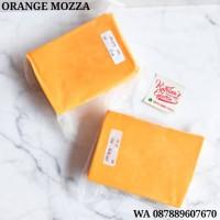 Keju Orange Mozzarella 250 gram - melted cheese