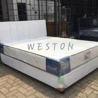 Spring Bed Full Set Ukuran 160 x 200 (1set) FREE ONGKIR