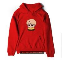 hoodie sweater wanita chimchim jimmin bts cartoon - high quality