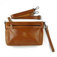 Clutch Pria Wanita Hand Bag Tas Tangan Kulit Asli Hbag01