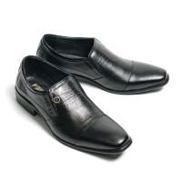 Sepatu Pantofel Pria Size 38 sampai 43 Formal Kulit Asli F7004