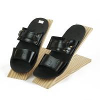Sandal Pria Casual Sendal Double Strap Kulit Asli SDL602