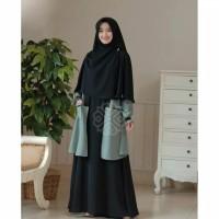 Gamis syari wanita dress muslimah murah jubah perempuan terlaris