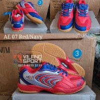 Sepatu Badminton Yonex All England 07/AE 07 Red/Navy