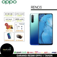 Oppo Reno 3 8/128 - GARANSI RESMI 1 TAHUN