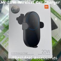 Xiaomi Mi 20W Wireless Car Charger - Qi Car Holder Fast Charging TAM