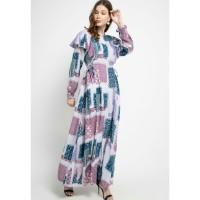 Dress Muslim Wanita Covering Story Melica Dress - B Light Purple