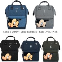Anello Disney Large Backpack Suprem - Tas Ransel Besar Mickey Mouse