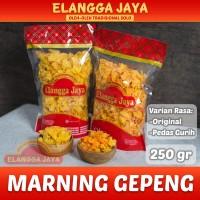 Marning Gepeng / Emping Jagung Geprek 250 gr