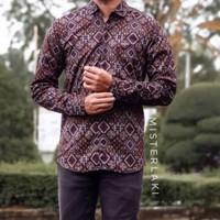 Kemeja Panjang Batik Pria Songket