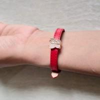 gelang tali arloji Pandora sabuk charm emas asli