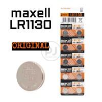 MAXELL LR1130 AG10 189 ORIGINAL FOR HEARING AID KALKULATOR ALARM LED