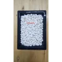 Batu Italy Hias Tanaman dan Aquarium Aquascape Putih Susu 1kg