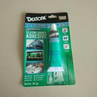 Lem Sealant Dextone Clear / Lem silicone silikon dextone / lem kaca