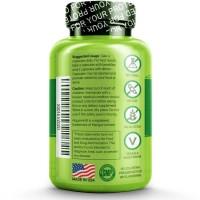 NATURELO - Bone Strength - with Plant Calcium & Magnesium - 120 capsul