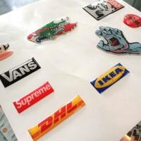 Sticker / Sticker Custom / Stiker Timbul / Sticker 3D / Resin