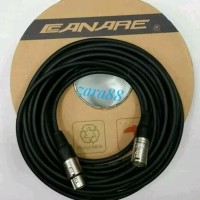 Kabel mixer audio 15 mtr Canon male to Canon female kabel mic canare