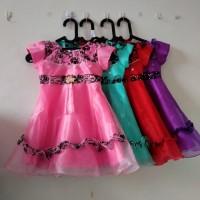 DRESS Anak Perempuan 1-3 Tahun Dress Princess Gaun Pesta Promo KA68 - Mint