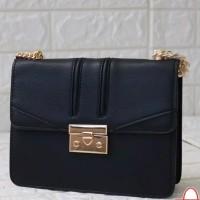 Sling Bag Wanita Selempang Import Fashion Wanita Double look