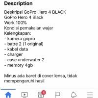Gopro hero 4 black titipan