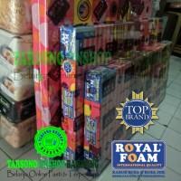 Kasur Busa Royal Foam (Royal Pink) Ukuran 120x200x15 Original