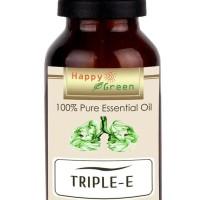 Happy Green Triple E Essential Oil (10 ml) - Minyak Pelega pernapasan