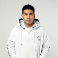 Evos White Zipper Hoodie - M