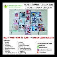 PROMO MEDICAL MINI NOTES - PAKET LENGKAP 16 BUKU BEST SELLER