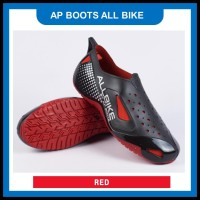 Sepatu Ap Boots All Bike Fantofel Hitam 977