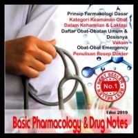 PROMO MEDICAL MINI NOTES FARMAKOLOGI 2019 / BUKU SAKU KEDOKTERAN
