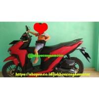 JOK BONCENGAN MOTOR VARIO 125&150CC LENGKAP SANDARAN