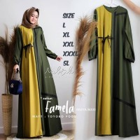Gamis Jumbo Crown XL XXL