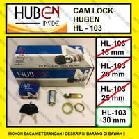 Kunci Loker Kait Cam Lock 30 mm Kunci Lemari Huben HL 103-30