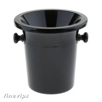 Plastic Wine Spittoon Bucket With Stand Black Party Ice Barrel