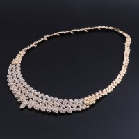 2018 Fashion Jewelry Set for Women Crystal Bridal Jewelry Sets Party