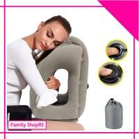 FS I845 Travel Pillow Tiup Bantal Angin Peluk Bantal Tiup Otomatis