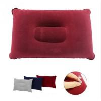 (80 Gr) HSI Bantal Travel Pillow Tiup Angin Udara Pompa Kecil Ringan
